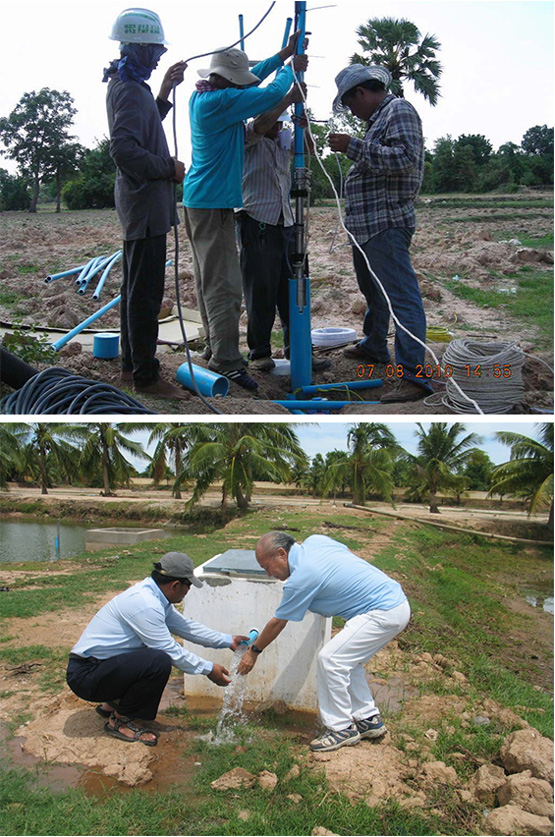 Khmer Solar - Water pump